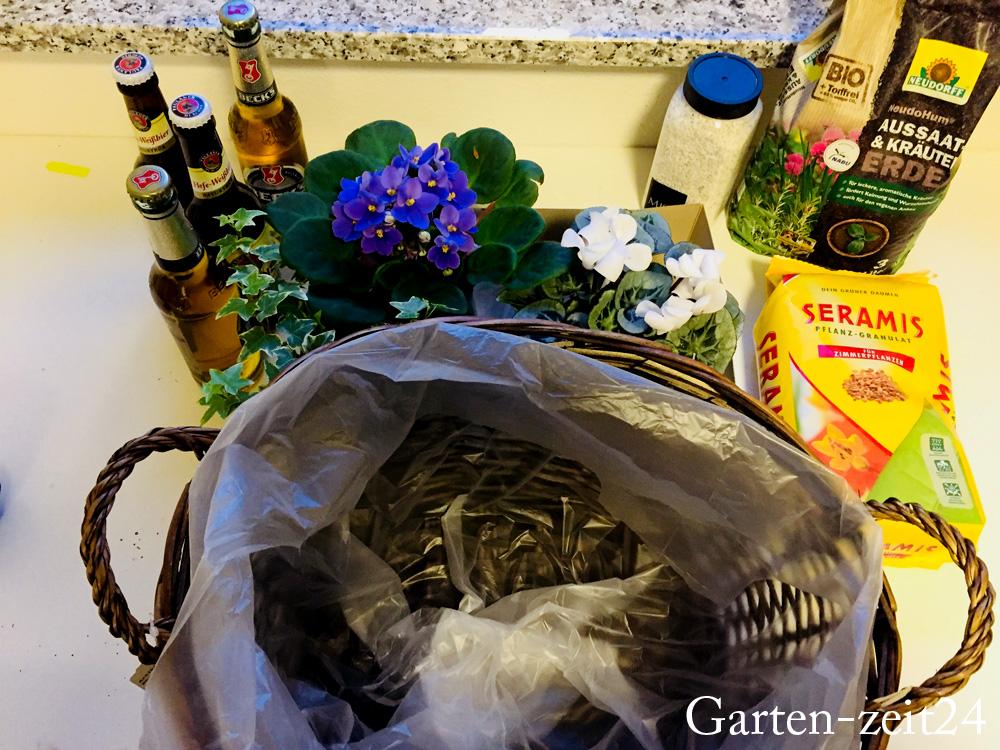 Biergarten Basteln Diy Geschenkidee Für Pflanzenfreunde