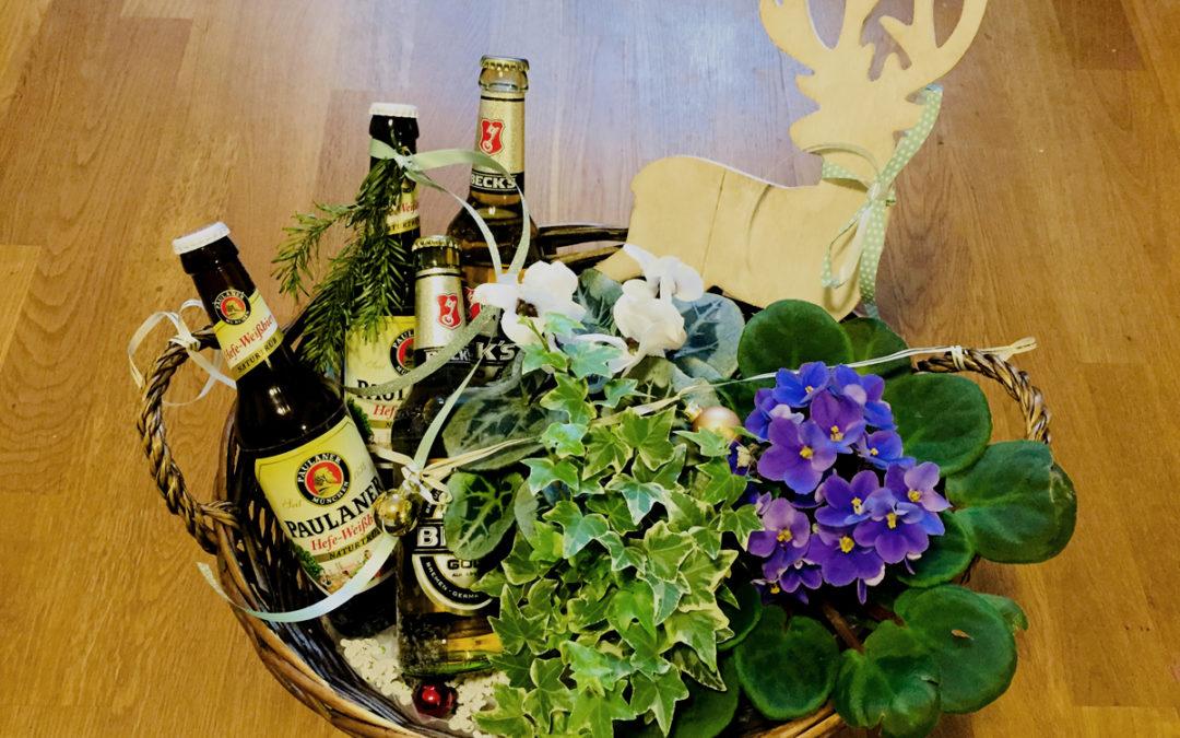 Biergarten basteln – DIY Geschenkidee für Pflanzenfreunde!