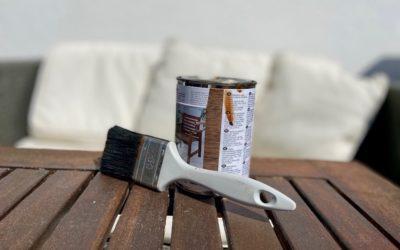 Holzschutz für DIY Tische – 3 Tipps fit gegen Witterung