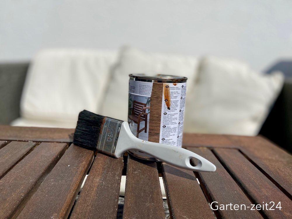 Holzschutz DIY Tische